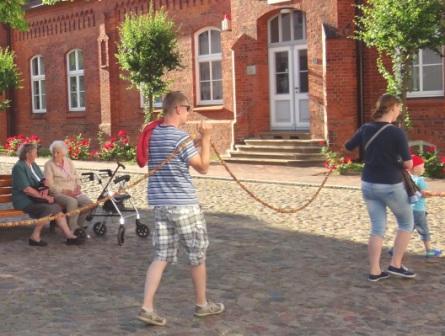 Bilder vom 10. Bernsteinfest in Ribnitz-Damgarten vom 13.Juni bis 15.Juni 2014. Foto: Eckart Kreitlow