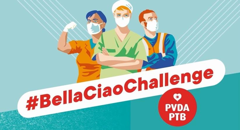 Aus dem Posteingang - 1000 x Bella Ciao from Belgium! - Facebook von Freitag, den 1.Mai 2020