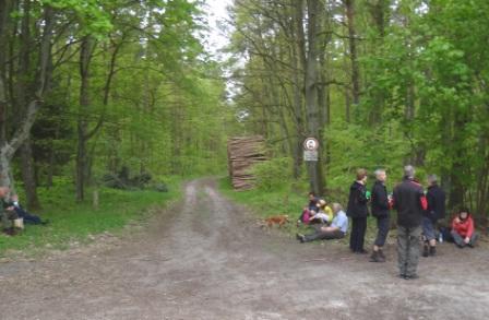 Fotos von der 20. Gedenkwanderung und den Gedenkveranstaltungen in Barth und Ribnitz am 1.Mai 2014. Foto: Eckart Kreitlow