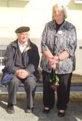 Dr. Ulrich Rabe und seine Ehefrau Hannelore. Foto: Eckart Kreitlow