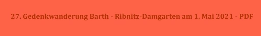 27. Gedenkwanderung Barth - Ribnitz-Damgarten am 1. Mai 2021 - PDF