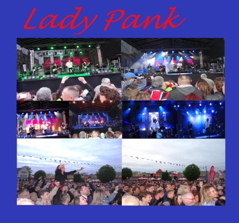 700 Jahre Partnerstadt von Ribnitz-Damgarten Sławno - Konzert der Rockband  Lady Pank in Sławno. Fotos & Montage: Eckart Kreitlow - Ostsee-Rundschau.de