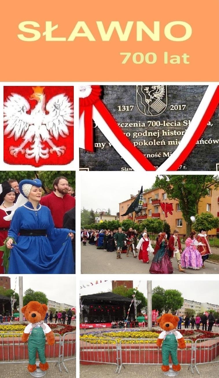 700 Jahre Partnerstadt von Ribnitz-Damgarten Sławno in der polnischen Woiwodschaft Westpommern im Jahre 2017. Fotos: Eckart Kreitlow - Ostsee-Rundschau.de