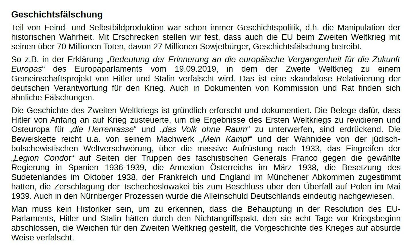 Aus dem Posteingang von Dr. Marianne Linke - ATTAC-Erklärung zum 76. Jahrestag der Befreiung von Auschwitz - PDF - Seite 2 Abschnitt 2
