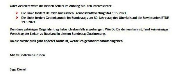 Antwort auf die Mail von Kalle - Aus dem Posteingang von Siegfried Dienel vom 27.05.2021 - Abschnitt 3