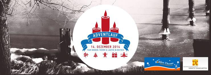 Der erste selbst organisierte Adventlauf des Saunateams Bodden-Therme startet am 14.12.2014 um 14:00 Uhr an der Bodden-Therme Ribnitz-Damgarten.