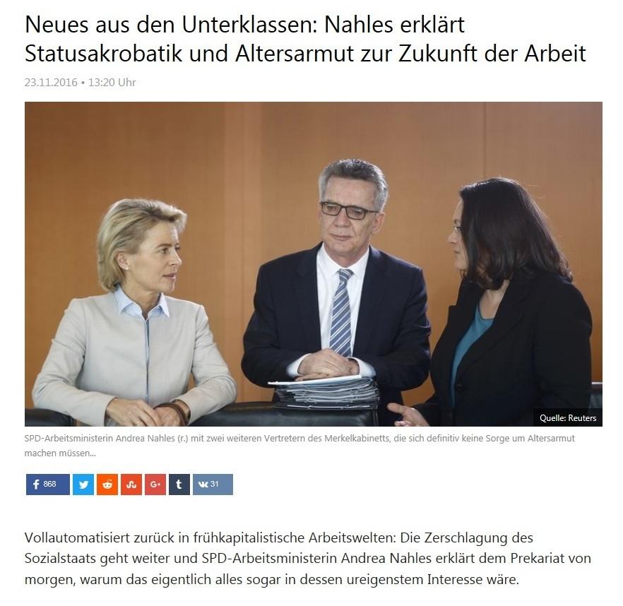 Alarmierende Altersarmut in Deutschland