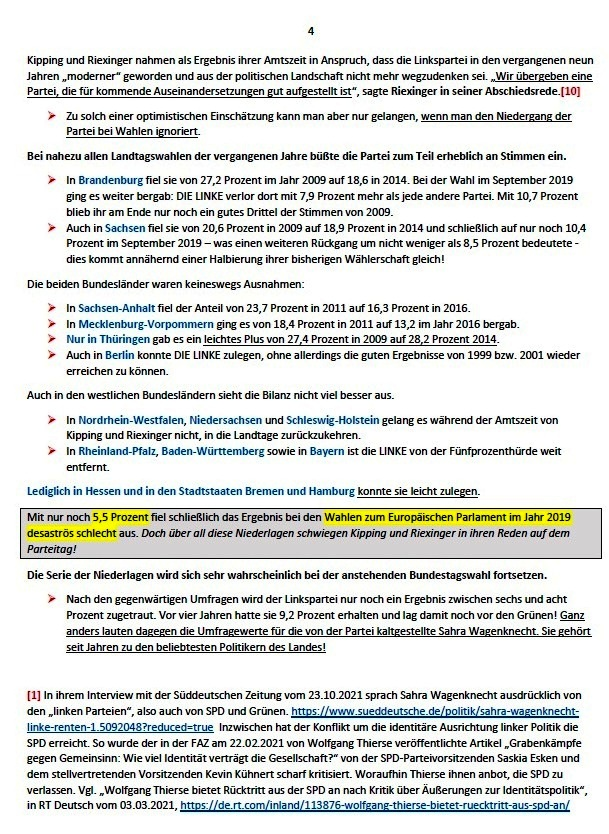 Die Post-Wagenknecht-Linke - Die Partei DIE LINKE nach ihrem Bundesparteitag - Andreas Wehr - ND - 05.03.2021 - Aus dem Posteingang von Siegfried Dienel vom 11.03.2021 - Abschnitt 4