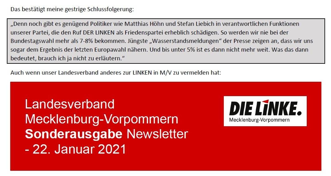 Aus dem Posteingang von Siegfried Dienel vom 23.01.2021 - Antwort auf die E-Mail an Ellen Brombacher - Abschnitt 4 von 5