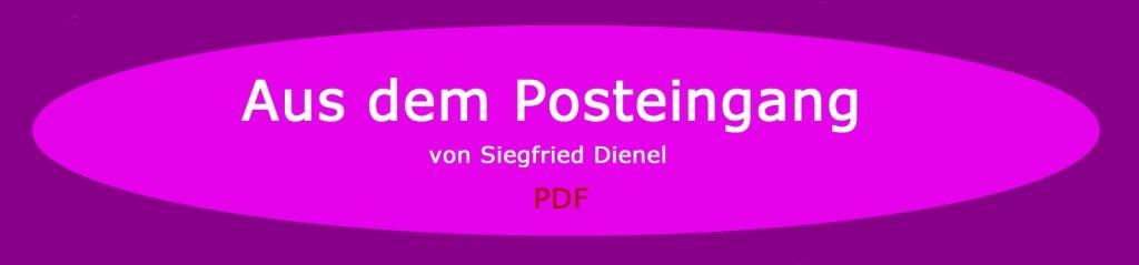 Aus dem Posteingang - Email von Siegfried Dienel vom 04.01.2021 - Brief von Gerhard Giese Strausberger Gesprächskreis weitergeleitet - PDF