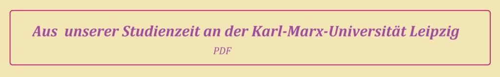 Eckart Kreitlow - Aus unserer Studienzeit an der Karl-Marx-Universität Leipzig - PDF