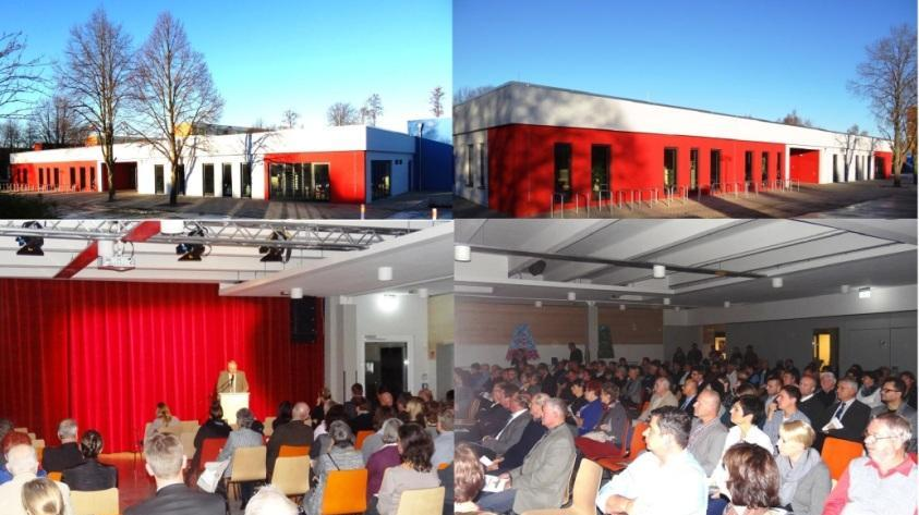 Das Begegnungszentrum der Bernsteinstadt Ribnitz-Damgarten wurde am 2.November 2016 feierlich eröffnet. Foto: Eckart Kreitlow