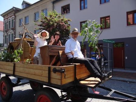 Bilder vom 9. Bernsteinfest in Ribnitz-Damgarten vom 7. bis 9.Juni 2013. Foto: Eckart Kreitlow
