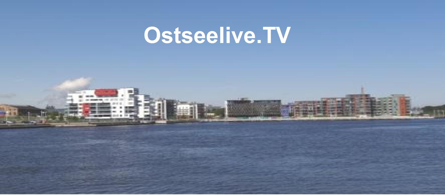 Ostseelive.TV | Blick auf das Warnowufer der Hansestadt Rostock. Foto: Eckart Kreitlow