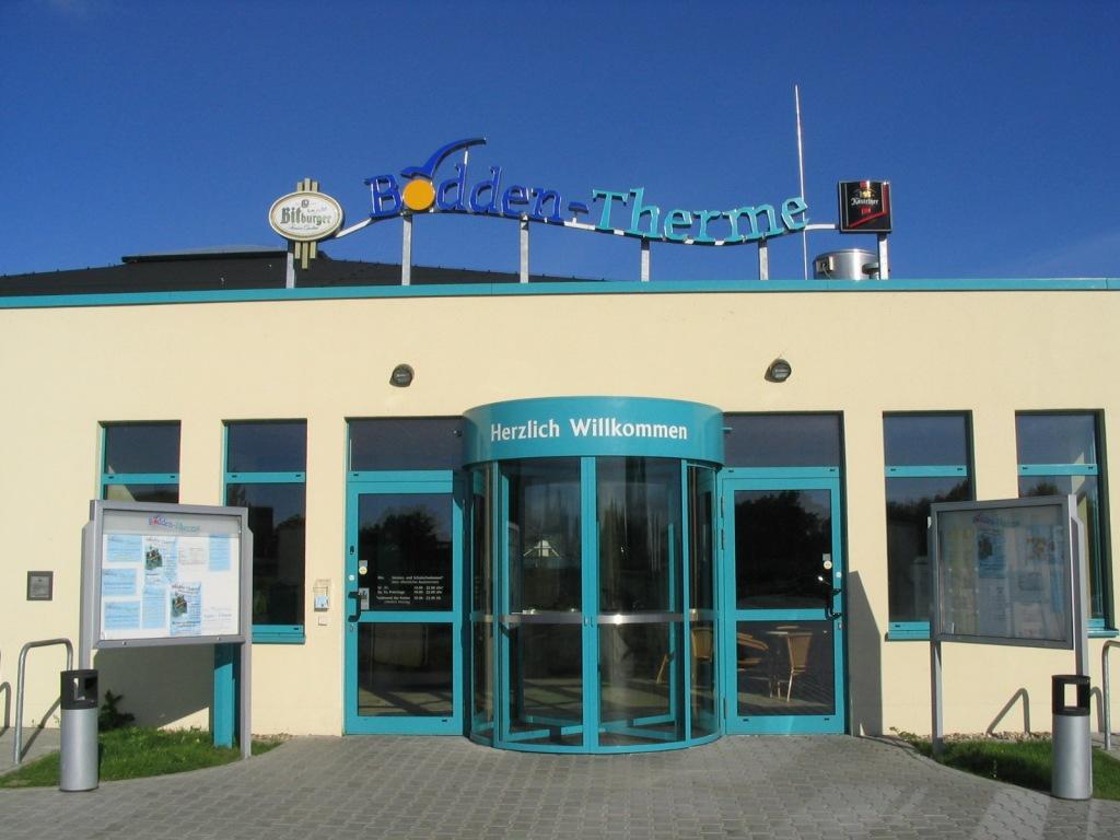 Eingangsbereich der Bodden-Therme. Fotoquelle: Bodden-Therme
