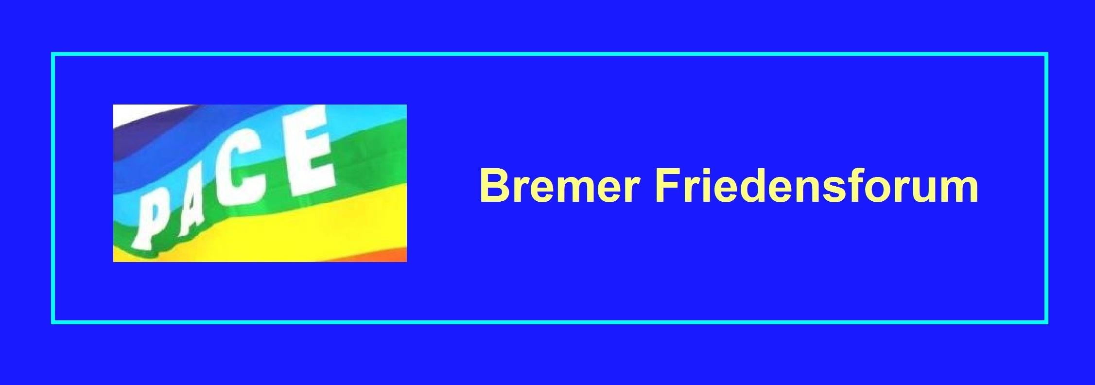 Bremer Friedensforum.