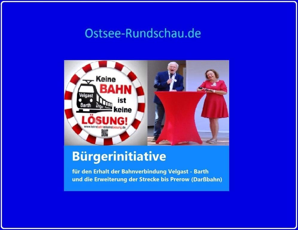 Bürgerinitiative Velgast - Barth - Prerow (Darßbahn) auf Ostsee-Rundschau.de