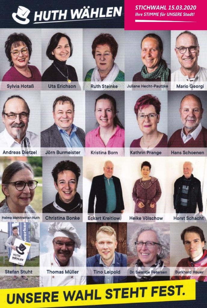 Bürgermeisterwahl Ribnitz-Damgarten 1. März 2020 - Unsere Wahl steht fest - Thomas Huth wählen