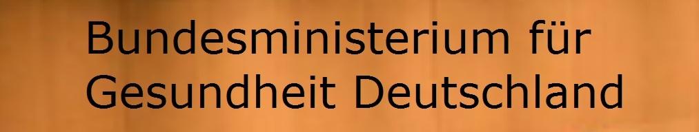 Bundesministerium für Gesundheit Deutschland
