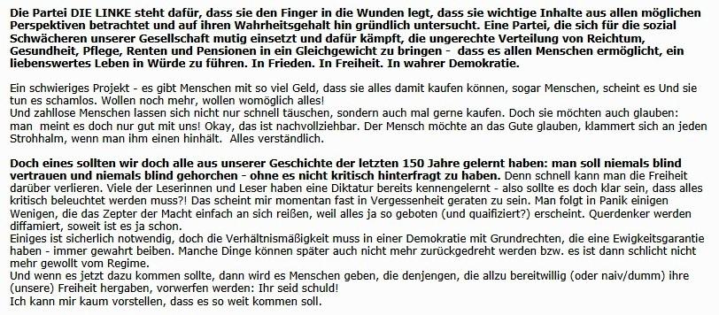 Aus dem Posteingang - Email vom 16.04.2020 von Christa Labouvie - Artikelempfehlung: Nationalsozialismus - Die dunkle Vergangenheit des RKI +++ Film auf arte: Die WHO im Griff der Lobbyisten