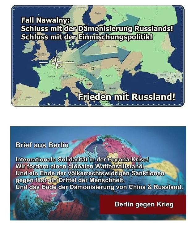 Covid-19 Appell - Zulassung für russische, chinesische, kubanische Impfstoffe - BERLIN-GEGEN-KRIEG.DE - Aus dem Posteingang von Siegfried Dienel vom 18.03.2021 - Abschnitt 6