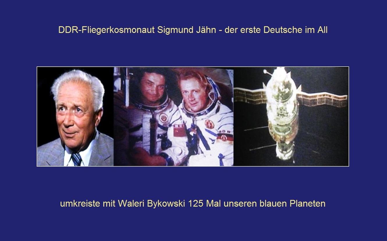 DDR-Fliegerkosmonaut Sigmund Jähn - der erste Deutsche im All umkreiste mit Waleri Bykowski 125 Mal unseren blauen Planeten - Ostsee-Rundschau.de