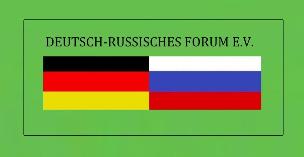 DEUTSCH-RUSSISCHES FORUM E.V. - Das Deutsch-Russische Forum organisiert den Dialog und die Begegnung zwischen den Gesellschaften Deutschlands und Russlands. - Link: https://www.deutsch-russisches-forum.de/