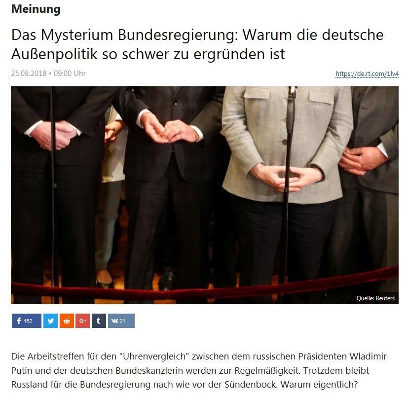 Meinung - Das Mysterium Bundesregierung: Warum die deutsche Außenpolitik so schwer zu ergründen ist