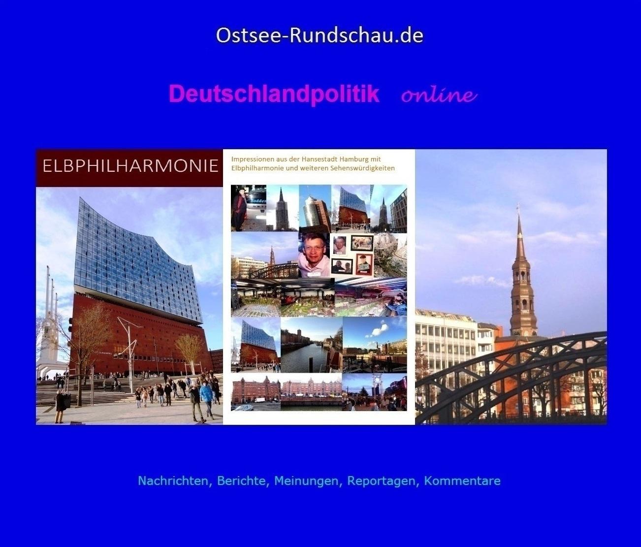 Deutschlandpolitik online der Neuen Unabhängigen Onlinezeitungen (NUOZ) Ostsee-Rundschau.de