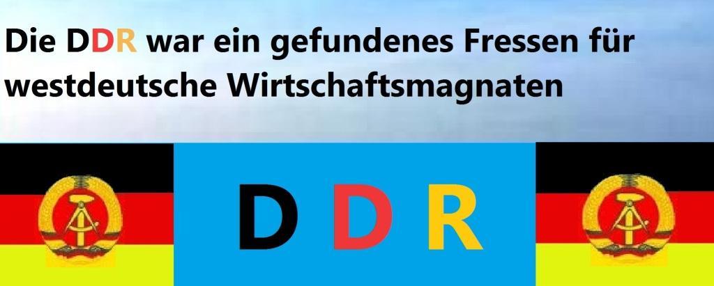 Die Machenschaften der Treuhand - Die Verteilung des DDR-Vermögens unter der Treuhandfuchtel - Die DDR war ein gefundenes Fressen für westdeutsche Wirtschaftsmagnaten.