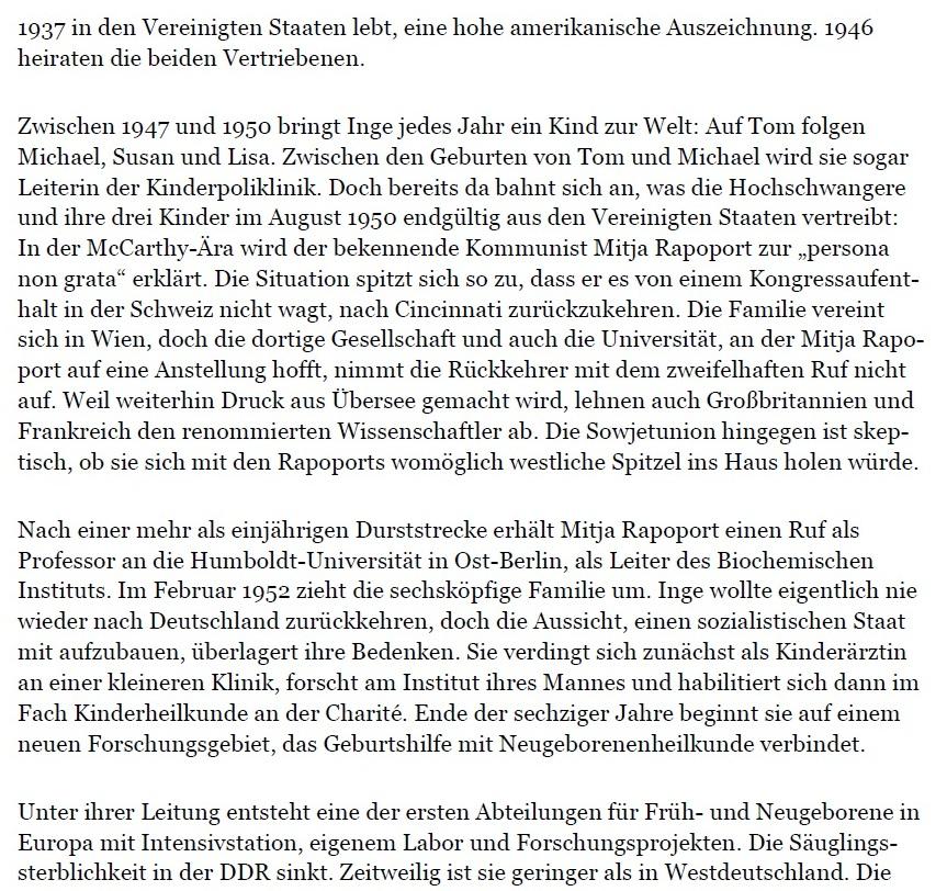 Aus dem Posteingang von Dr. Marianne Linke und Dr. Lienhard Linke  -  Die drei Leben der Rapoports - PDF - Seite 4