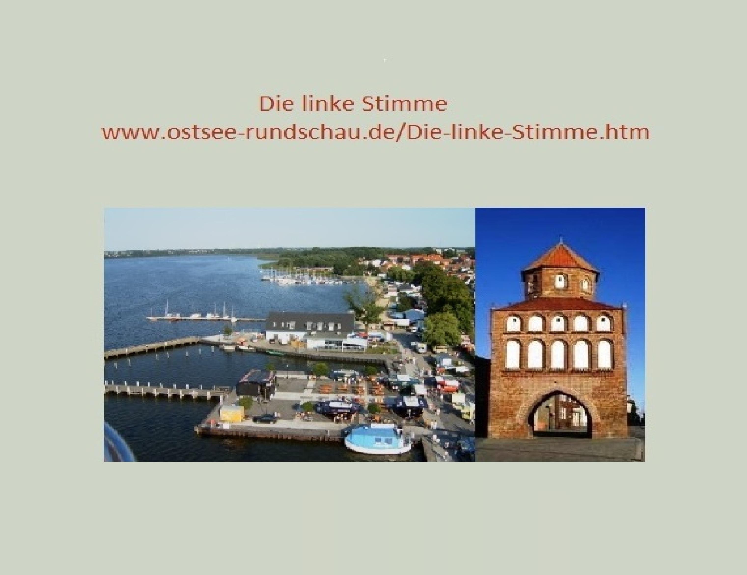 Ostsee-Rundschau.de - Mitteilungsblätter Die linke Stimme - Ortsverband und Stadtfraktion DIE LINKE<br> Ribnitz-Damgarten informieren