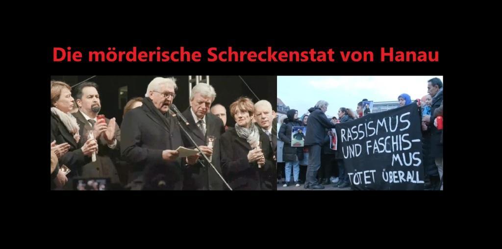 Die mörderische Schreckenstat von Hanau - Der 19. Februar 2020 ist ein rabenschwarzer Tag für die Angehörigen der Opfer von Hanau, für die Stadtgesellschaft von Hanau und für uns alle, die wir Anteil nehmen an diesem schrecklichen Schicksalen der so schwer betroffenen Menschen - Ostsee-Rundschau.de