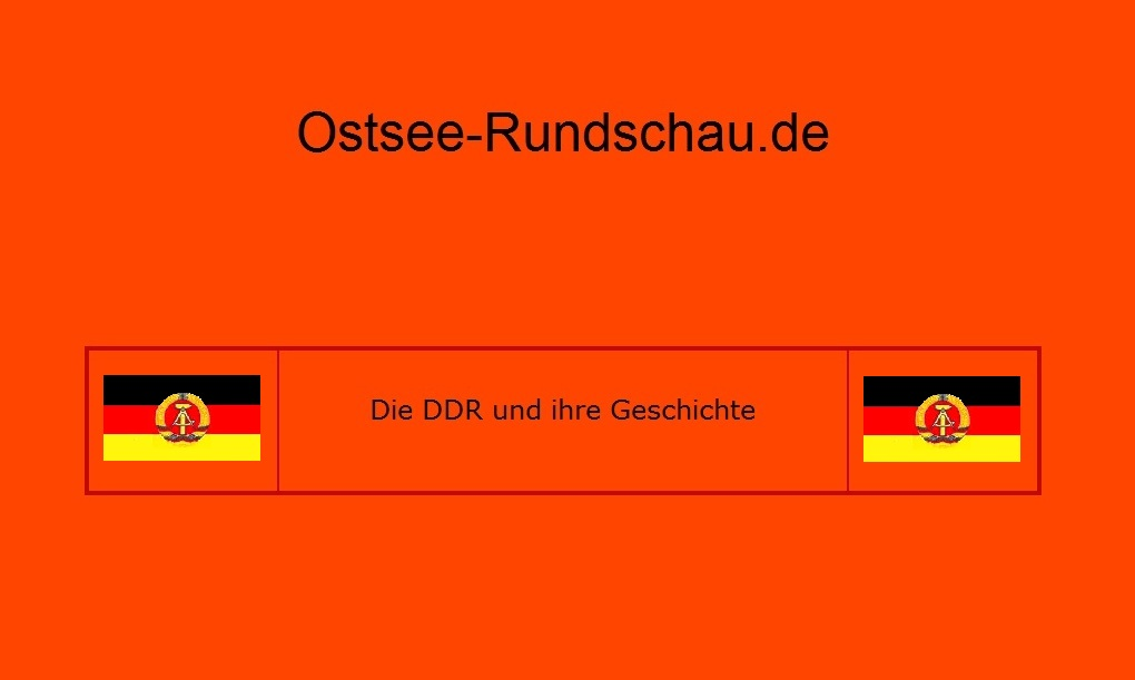 Die DDR und ihre Geschichte