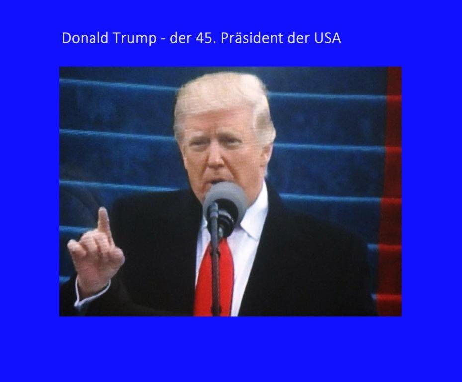 Donald Trump - der 45.Präsident der USA - Ostsee-Rundschau.de
