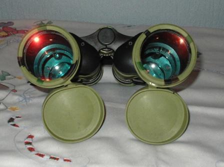 Hochwertiges Doppelfernglas BINOCULARS, nachtaktiv, neu, 10 x 50, Foto: Eckart Kreitlow