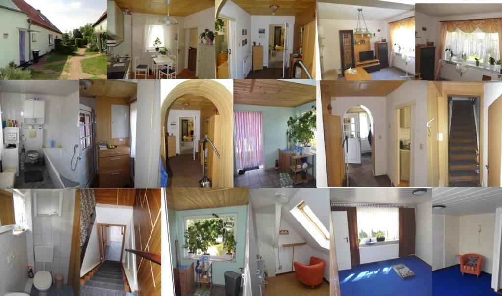 Doppelhaushälfte mit Grundstück  in ruhiger Lage in Ortsteil von Ribnitz-Damgarten  zu verkaufen - Fotos von den Innenräumen in der Doppelhaushälfte