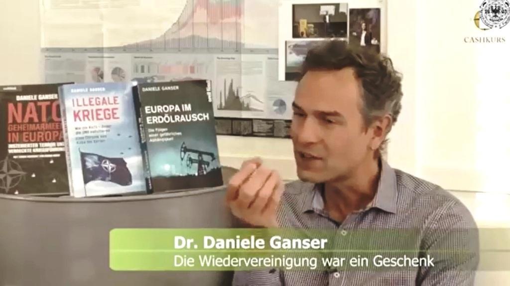 Daniele Ganser über Manipulationen der Presse und die Bevölkerungsentwicklung
