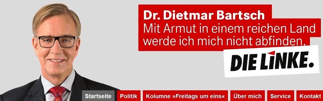 Dr. Dietmar Bartsch, Abgeordneter des Deutschen Bundestages, Vorsitzender der Bundestagsfraktion DIE Linke