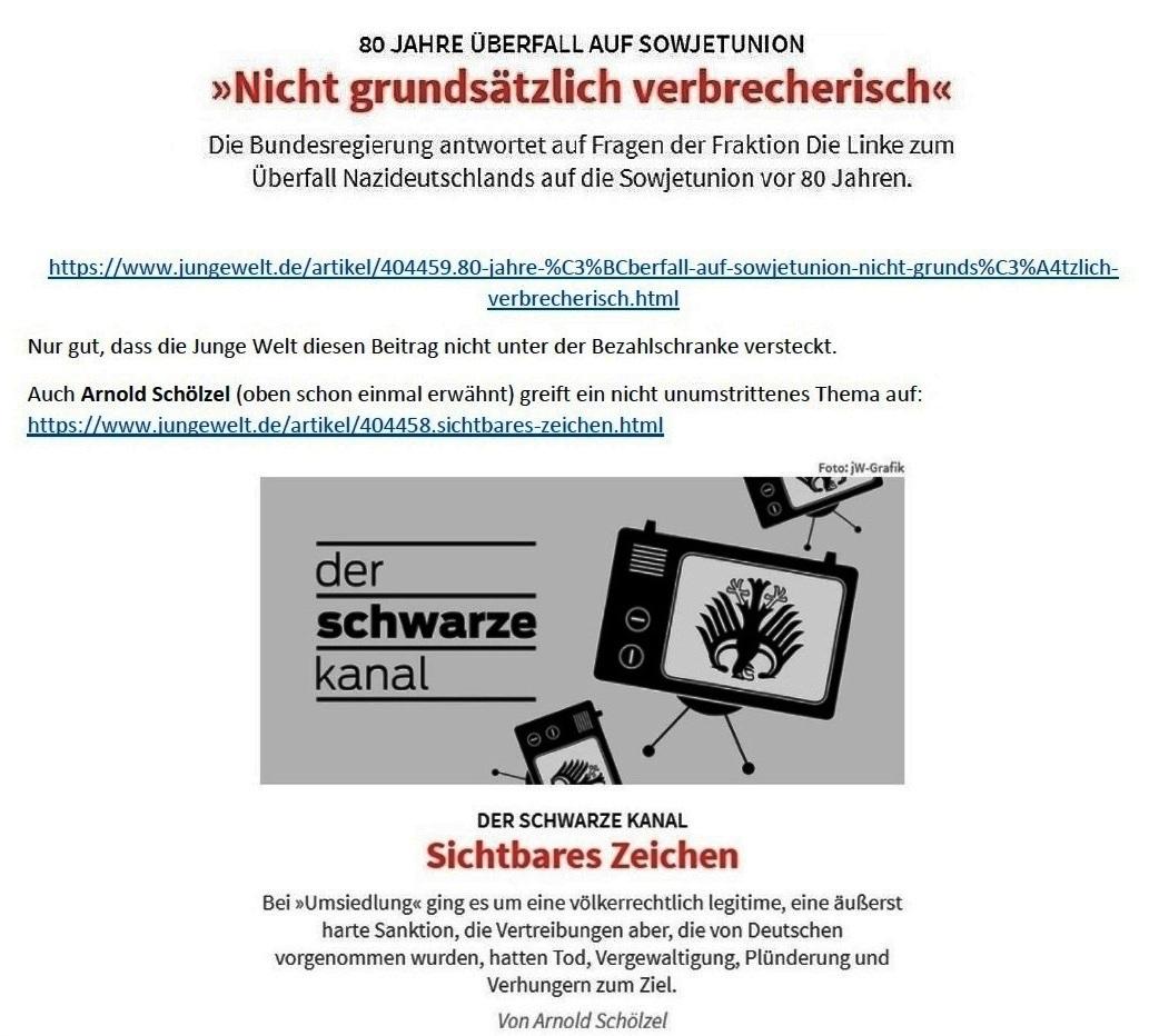 E-Mail an Grischa - Aus dem Posteingang von Siefried Dienel vom 23.06.2021 -  Abschnitt 6