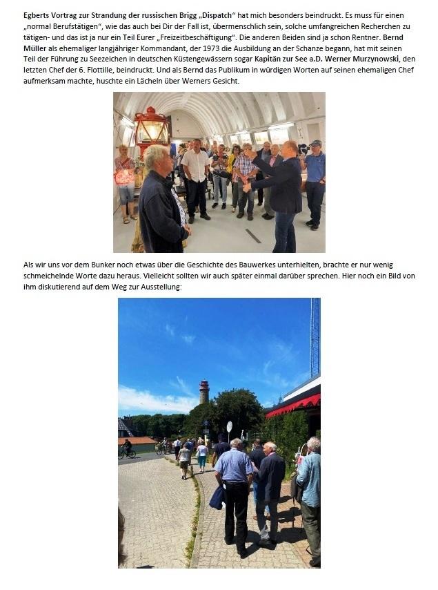 Danke für Arkona - E-Mail an Holger Neidel vom 4.07.2021 - Aus dem Posteingang von Siegfried Dienel vom 5.07.2021 - Abschnitt 4