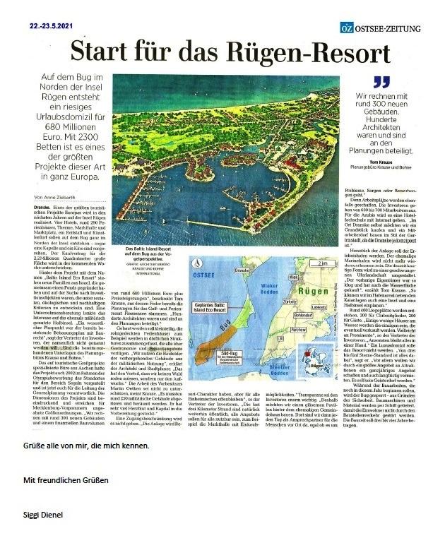 Danke für Arkona - E-Mail an Holger Neidel vom 4.07.2021 - Aus dem Posteingang von Siegfried Dienel vom 5.07.2021 - Abschnitt 9