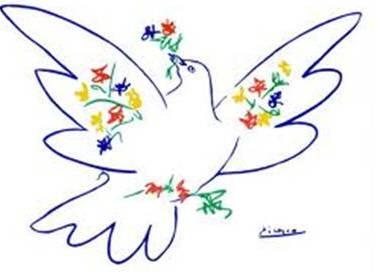 Friedenstaube Europäisches Friedensforum