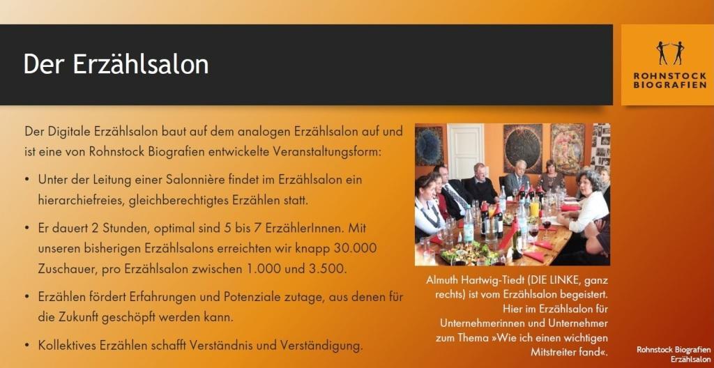 Konzept Digitaler Erzählsalon - Rohnstock Biografien - PDF
