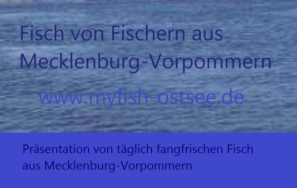 Fisch von Fischern in Mecklenburg-Vorpommern -