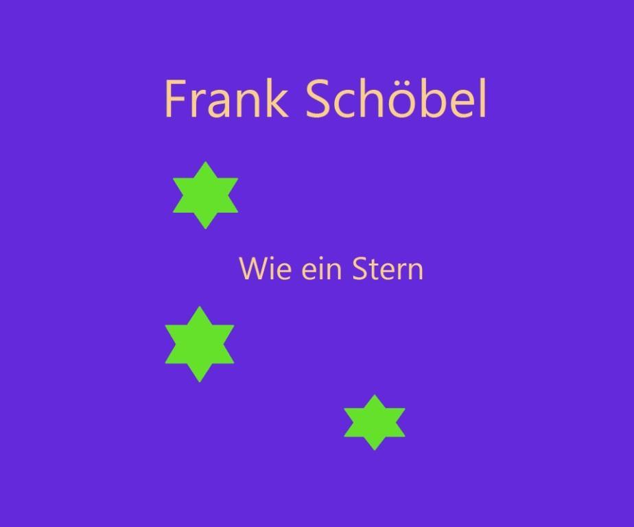 Frank Schöbel - Wie ein Stern