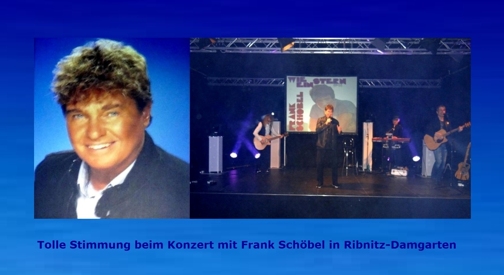 Tolle Stimmung beim Konzert 'HIT auf HIT' mit  Frank Schöbel am 6. Januar 2019 im Begegnungszentrum Ribnitz-Damgarten. Fotos: Eckart Kreitlow