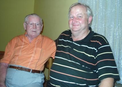 Wir freuten uns natürlich sehr darüber, dass unser ehemalige Journalistenkollege Fred Neubert, mit dem wir damals bei der Ostsee-Zeitung in der Lokalredaktion Ribnitz-Damgarten mehrere Jahre zusammenarbeiteten, uns Mitte September 2009 zusammen mit seiner Familie besuchte.