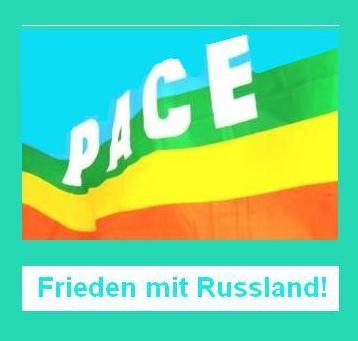 Frieden mit Russland! Gegen Russland-Bashing und Kriegshetze! Grafik: Eckart Kreitlow