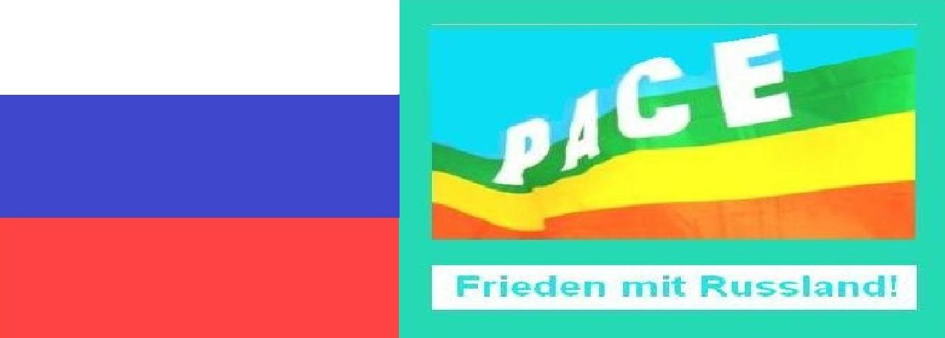 Frieden mit Russland! - Für Frieden und Völkerverständigung! - Gegen Kriegshetze und Russland-Bashing!
